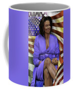 The First Lady-american Pride Coffee Mug by Reggie Duffie