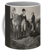 The First Meeting Of George Washington And Alexander Hamilton Coffee Mug