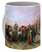 The First Thanksgiving Coffee Mug