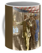 The First Vote 1867 Coffee Mug