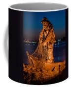 The Fisherman After Nightfall Coffee Mug