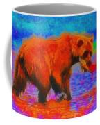 The Fishing Bear - Da Coffee Mug