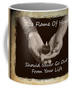 The Flame Of Hope Coffee Mug