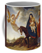 The Flight Into Egypt Coffee Mug by Carlo Dolci