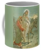 The Flight Into Egypt Coffee Mug by John Lawson