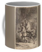 The Flight Into Egypt: Small Coffee Mug