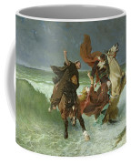 The Flight Of Gradlon Mawr Coffee Mug by Evariste Vital Luminais