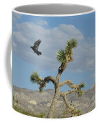 The Flight Of Raven. Lucerne Valley. Coffee Mug