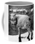 The Flock Is Safe Grayscale Coffee Mug
