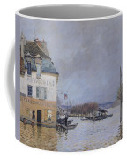 The Flood At Port Marly Coffee Mug by Alfred Sisley