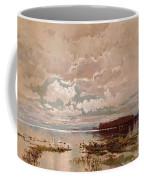 The Flood In The Darling 1890 Coffee Mug