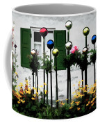 The Flowers And The Balls Coffee Mug