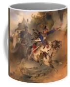 The Foraging Hussar 1840 Coffee Mug