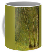 The Forest At Pontaubert, 1881 Coffee Mug