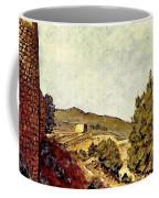 The Fort In Lorca Coffee Mug