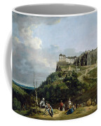 The Fortress Of Konigstein Coffee Mug