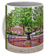 The Fountain At Radford University Coffee Mug