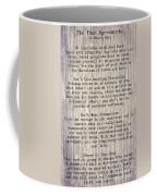 The Four Agreements 6 Coffee Mug