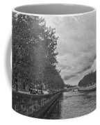 The Four Courts In Reconstruction 3 Bw Coffee Mug