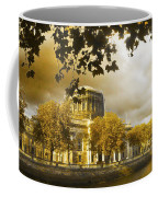 The Four Courts In Reconstruction Sepia Coffee Mug