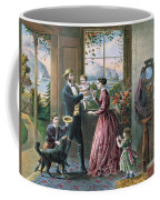 The Four Seasons Of Life  Middle Age Coffee Mug by Currier and Ives