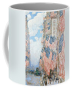 The Fourth Of July Coffee Mug by Childe Hassam