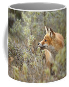 The Fox And Its Prey Coffee Mug