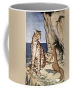 The Fox And The Leopard Coffee Mug