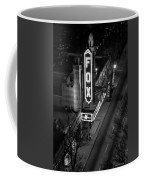 The Fox Thearter Bw Atlanta Night Art Coffee Mug