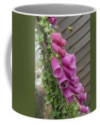 The Foxglove And The Bumble Bees Coffee Mug