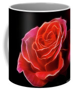 The Fractalius Rose Coffee Mug
