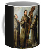 The Franciscan Martyrs In Japan Coffee Mug by Don Juan Carreno de Miranda