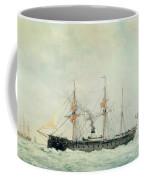 The French Battleship Coffee Mug