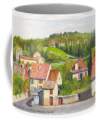 The French Village Of Billy In The Auvergne Coffee Mug