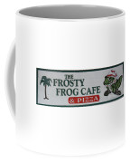 The Frosty Frog Cafe Sign Coffee Mug