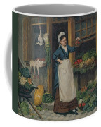 The Fruit Seller Coffee Mug by Victor Gabriel Gilbert