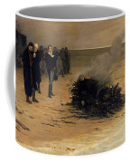 The Funeral Of Shelley Coffee Mug