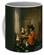 The Game Of Cards Coffee Mug