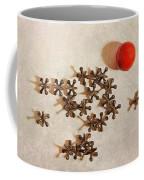 The Game Of Jacks Coffee Mug