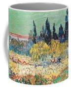 The Garden At Arles  Coffee Mug by Vincent Van Gogh