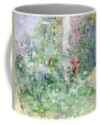 The Garden At Bougival Coffee Mug by Berthe Morisot