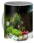 The Garden Bench Coffee Mug