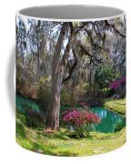 The Garden In The Abbey Coffee Mug