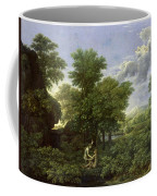 The Garden Of Eden Coffee Mug by Nicolas Poussin