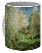 The Garden Of Hoschede Family Coffee Mug