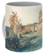 The Garden Of San Miniato Near Florence Coffee Mug