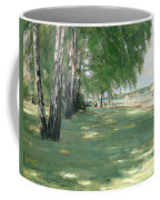 The Garden Of The Artist In Wannsee Coffee Mug