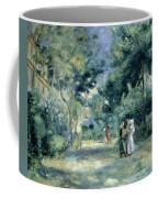 The Gardens In Montmartre Coffee Mug by Pierre Auguste Renoir