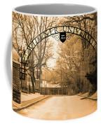 The Gate At Widener University Coffee Mug