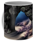 The Gate In The Grotto Coffee Mug